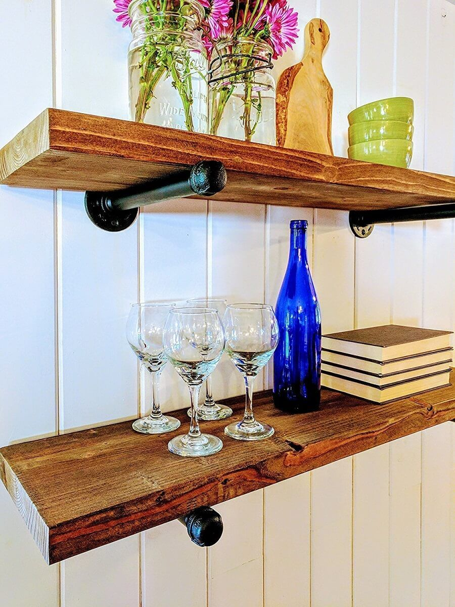 pin by insteading on floating shelves floating shelves kitchen ikea floating shelves on kitchen floating shelves id=47212