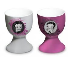 Betty Boop Ceramic Egg Cup, Set of 2