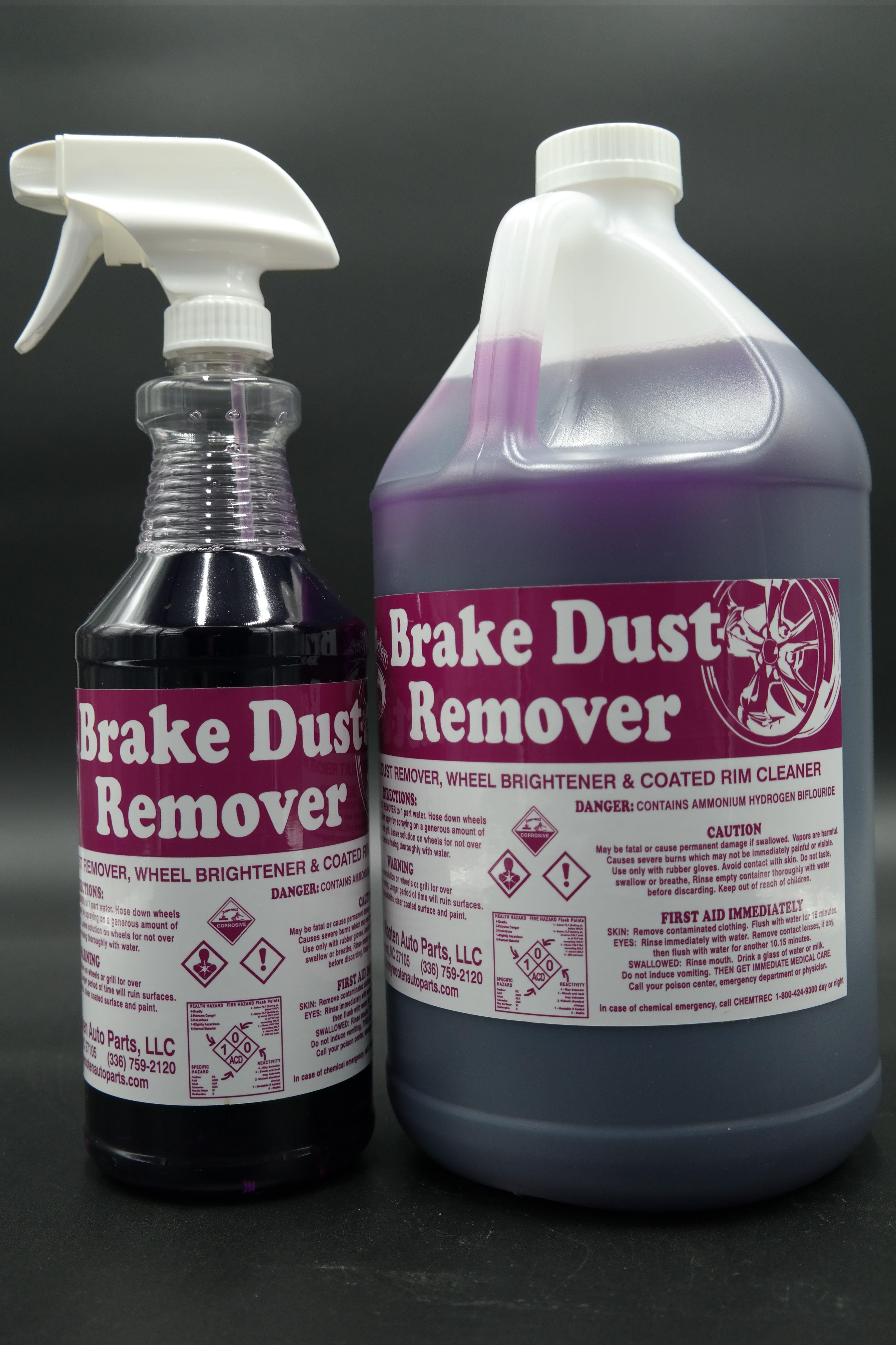 Brake dust remover johnny wooten exterior wheel cleaner