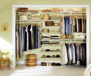 Bens closet- ClosetMaid