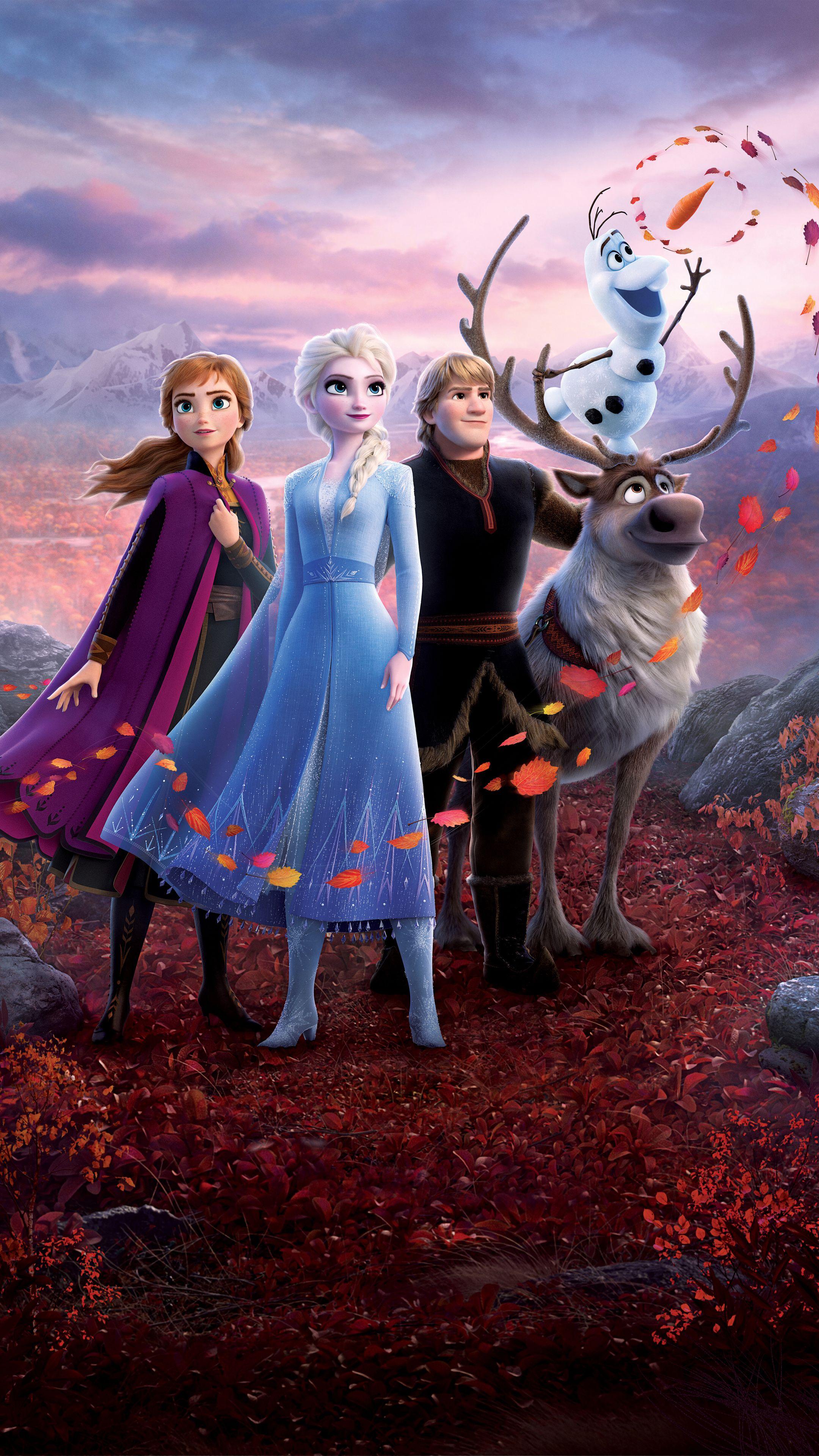 Frozen 2 2019 5k Movie In 2160x3840 Resolution Disney Posteres