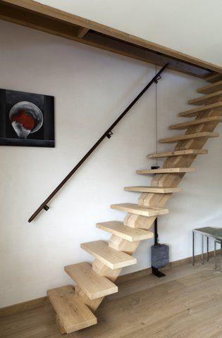 Stairs dirk cousaert stairs pinterest escadas for Houten trap buiten