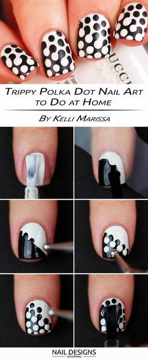 15 Step by Step Tutorials How to do Nail Designs at Home ...