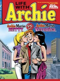 Archie, Betty & Veronica! Roz's dad made these comics at the factory.