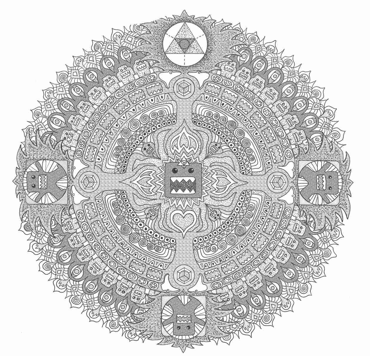 Domokun Mandala Mandala, Abstract art, Art