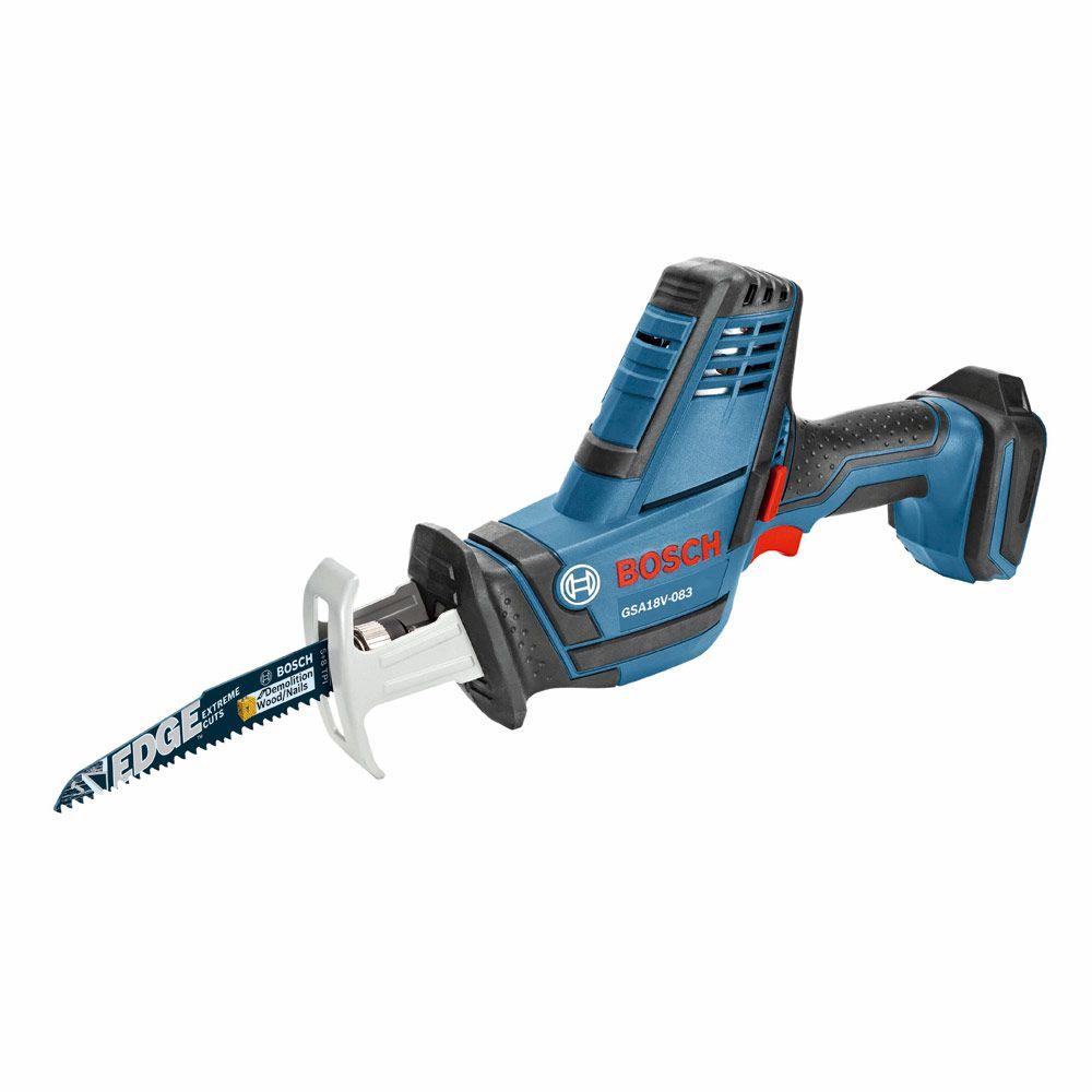 Bosch Gsa18v 083b 18v Compact Reciprocating Saw Bare Tool Cordless Reciprocating Saw Reciprocating Saw Bosch
