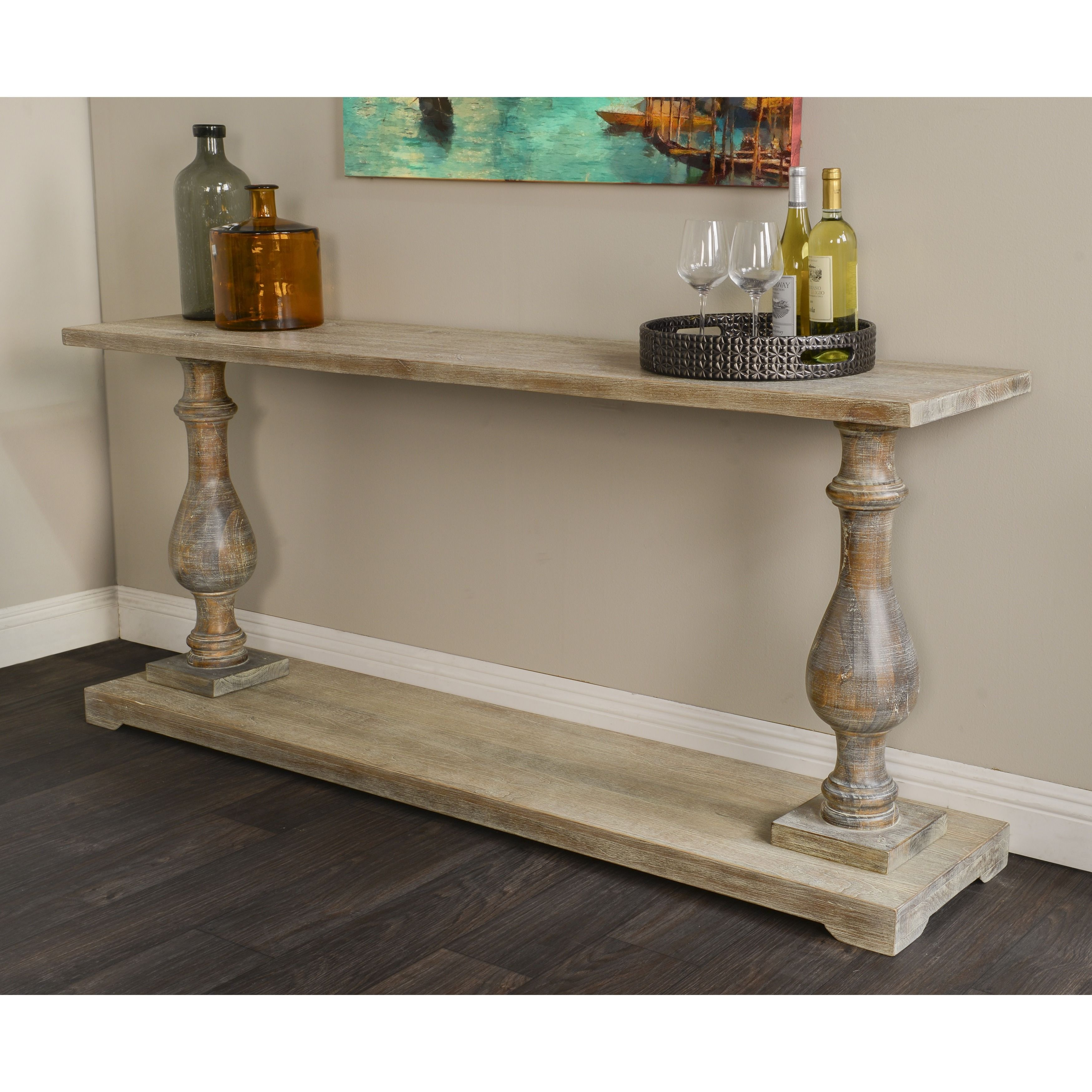Parvin 71 Inch Reclaimed Pine Console Table By Kosas Home Wood Console Table Kosas Home Wood Console
