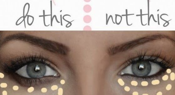 What are some ways to conceal under eye circles?