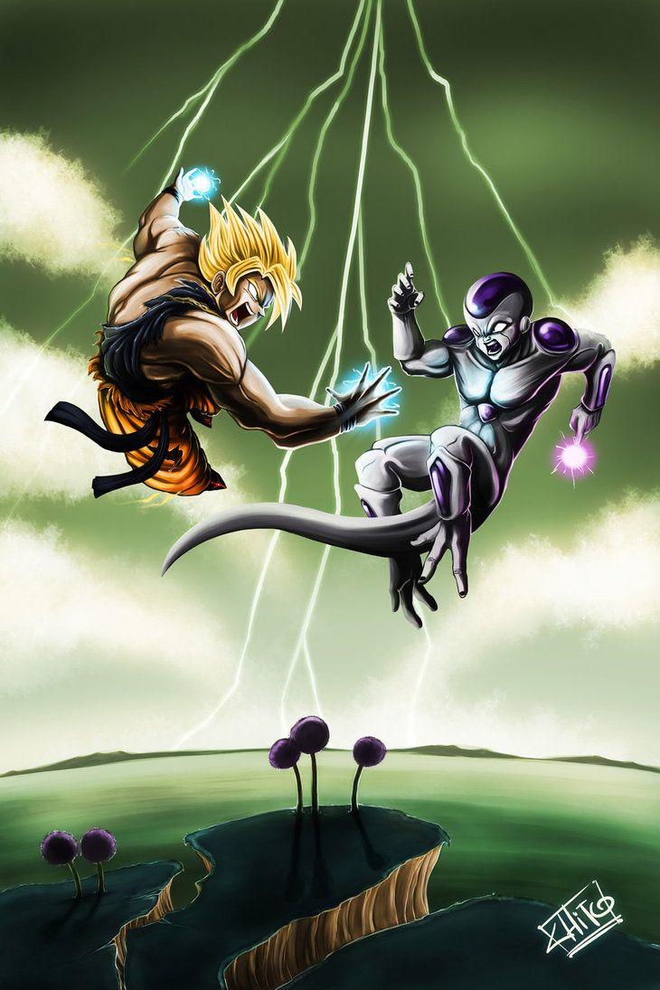 Goku Vs Freezer Goku Vs Goku Vs Frieza Dragon Z