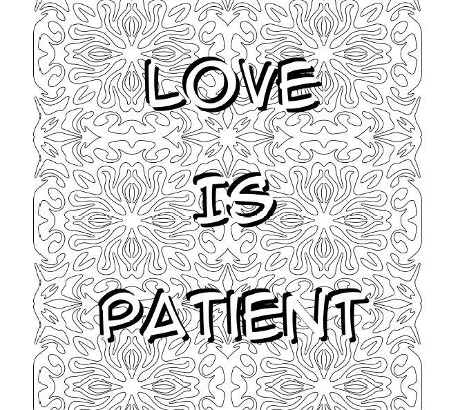 LOVE: 12 Quotes About Love A Coloring Book by Happycolor24
