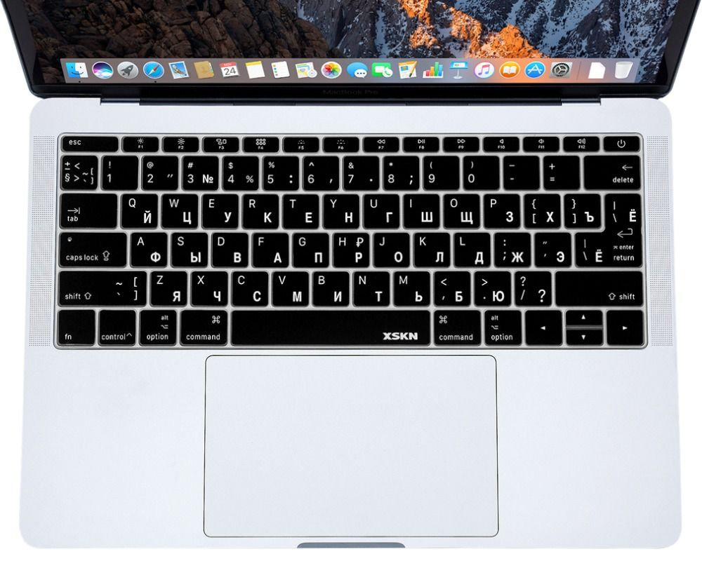 "Brain Silicone Keyboard Cover Skin Protector For Macbook Pro 13/"" A1708 12/""A1534"
