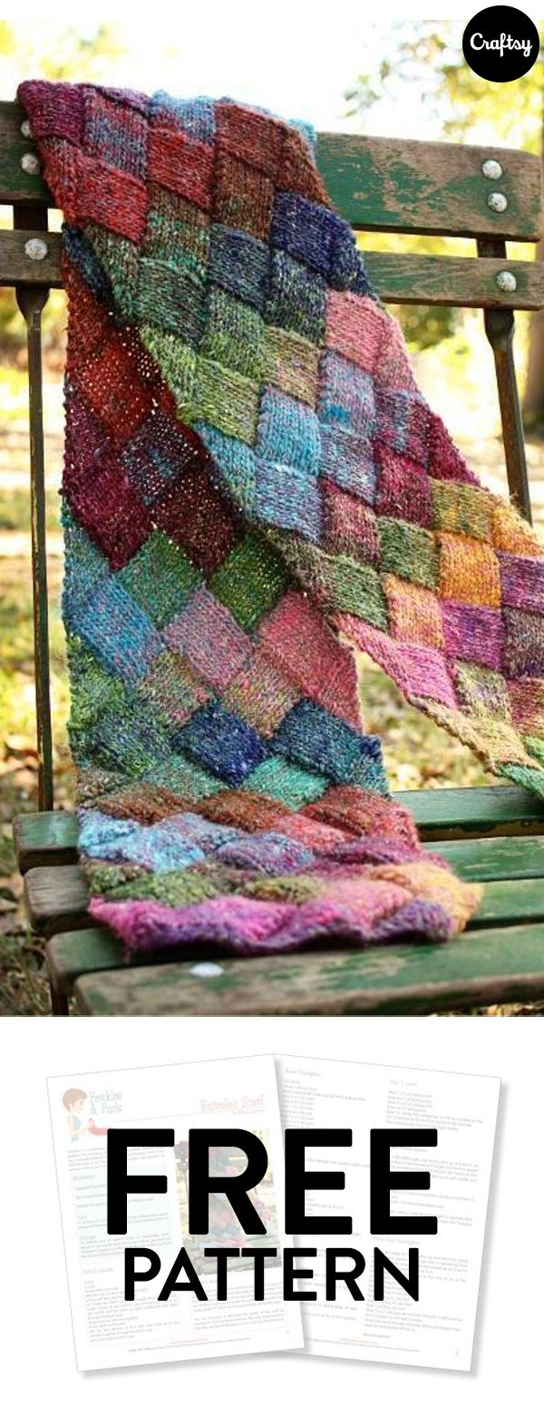 Entrelac scarves are special because of their unique and textured entrelac scarves are special because of their unique and textured diamond pattern they make a bankloansurffo Choice Image