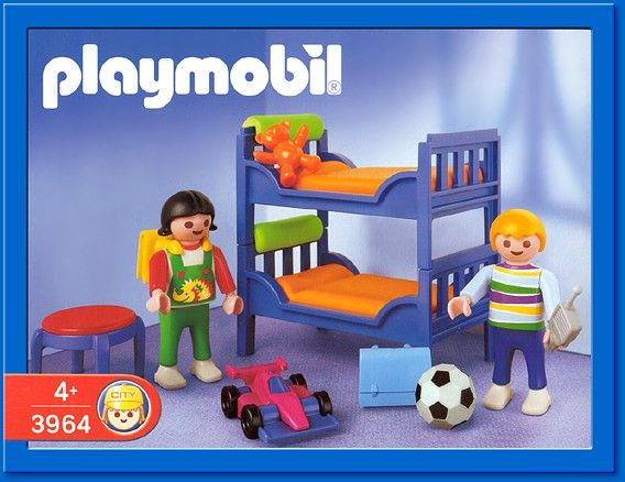 PLAYMOBIL set 3964 Children's Room Playmobil / Mighty