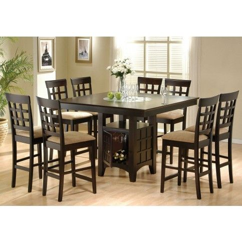 Mix Match 9 Pcs Counter Height Set With Images Dining Table