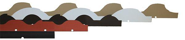 Dcsm Tile Metal Eave Closure Metal Closure Molding