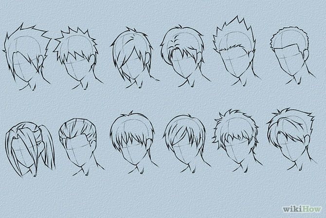 Phenomenal 1000 Images About Male Hairstyle Drawing On Pinterest How To Hairstyle Inspiration Daily Dogsangcom
