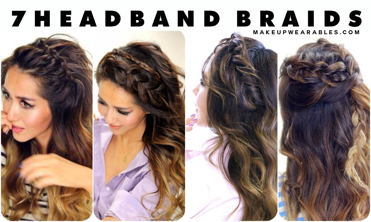 Headband Braid Hairstyles For Romantic Girls To Show Off Their Nature pics