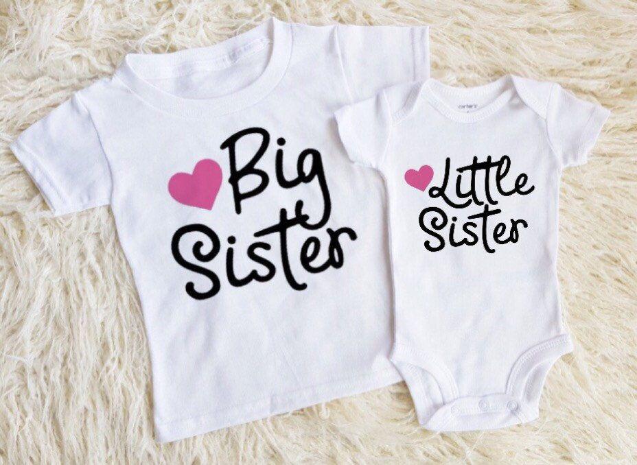 ae2f19bd6 Big sister little sister outfits little sister onesie little sister shirt big  sister onesie big sister shirt shirts for girls new baby girl by  EatSleepDrool ...