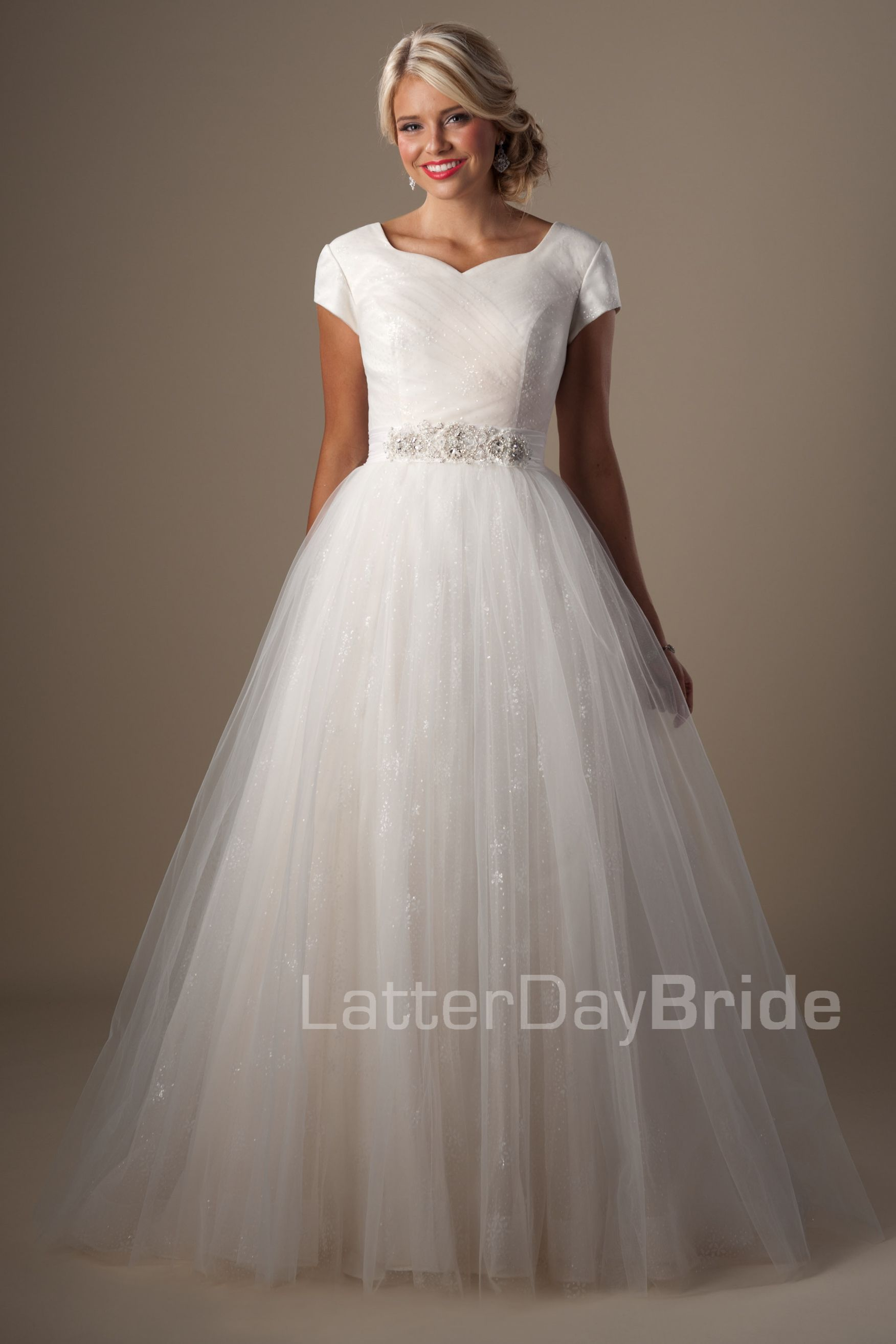 Modest Wedding Dresses : Marillion. Latter Day Bride, Gateway Bridal ...