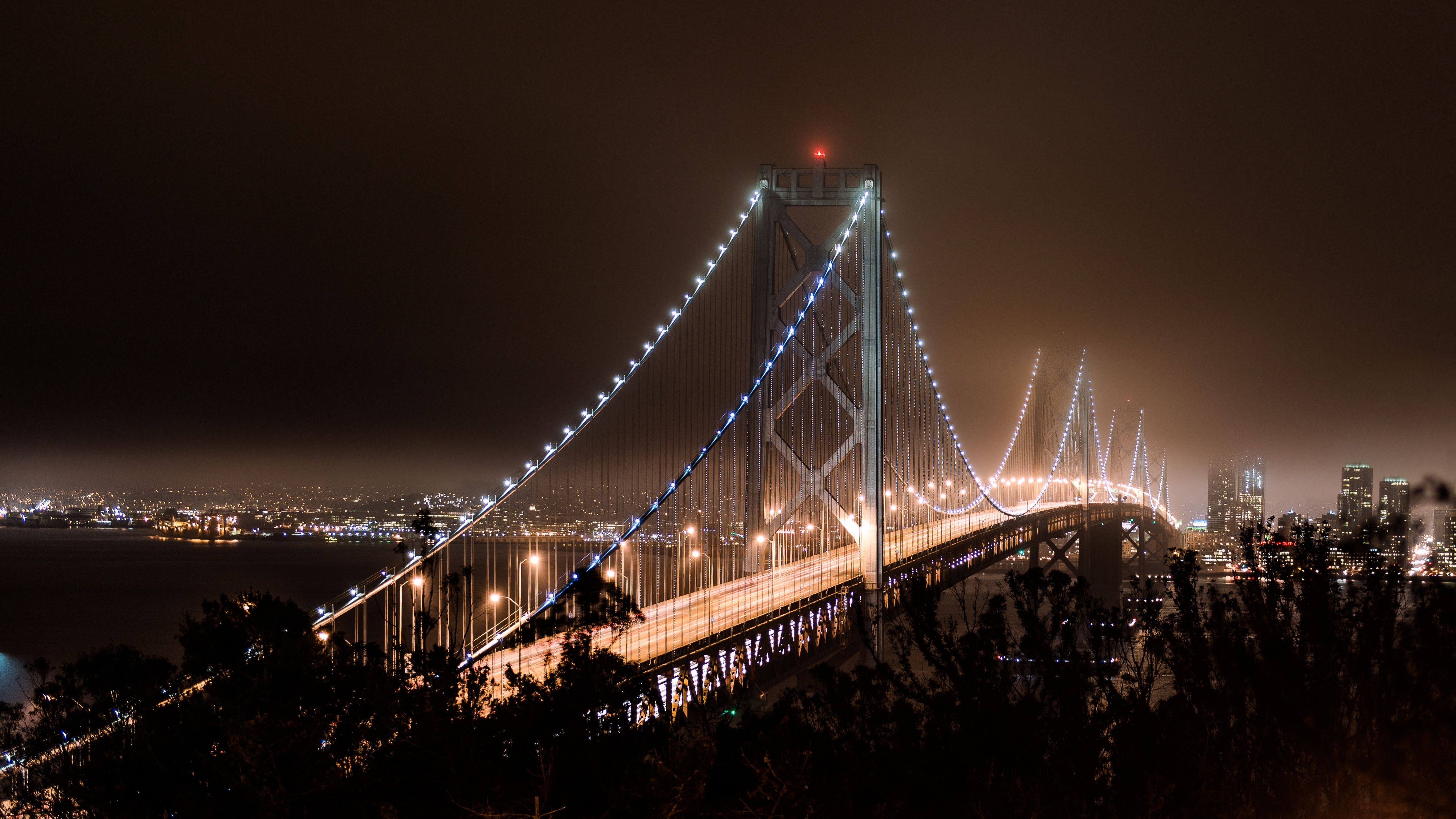 This Reminds Me Of A Bridge In My Fictional City Of Babylon In Babylon One Side Of The Bridge Is The Newer And More San Francisco Bridge Bay Bridge Dark City