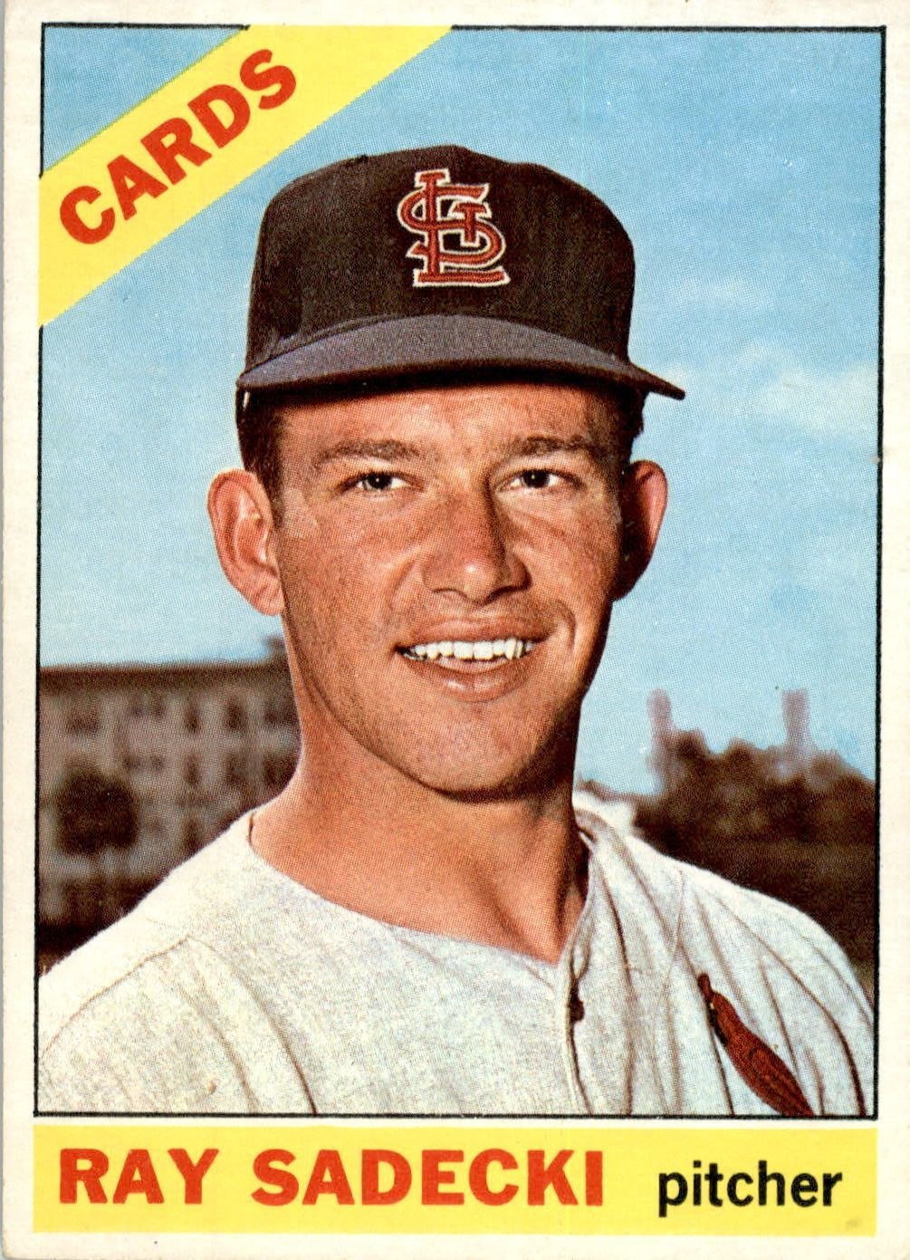 As a 19 year old ray sadecki won 7 games for the cardinals