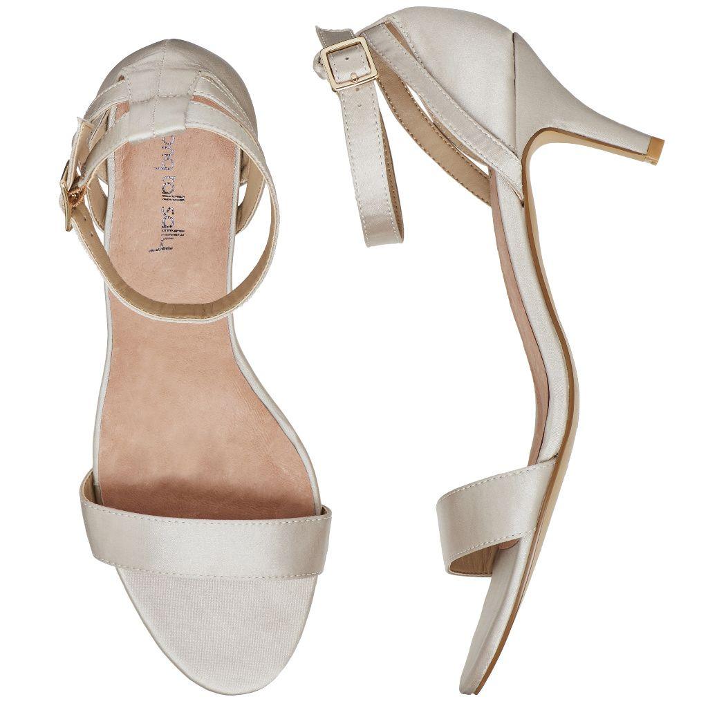 Satin Kitten Heel Size 11 Brand New Shoes Women Heels Long Tall Sally Shoes Size 11 Heels