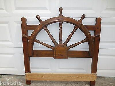 Ships Wheel Headboard Pirate Ship Steering Wheel Twin