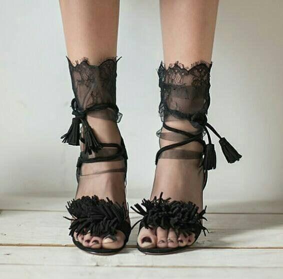 bf2cab2d6 Sexy lace socks - Black Lace Socks -Tulle socks - Black socks - Sheer socks  - Crystal modern socks -