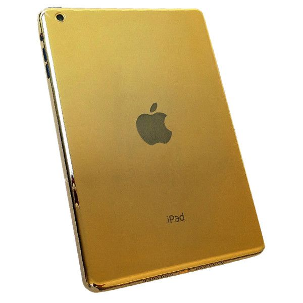Goldstriker 24ct Gold iPad ($3,180) ❤ liked on Polyvore featuring accessories and tech accessories
