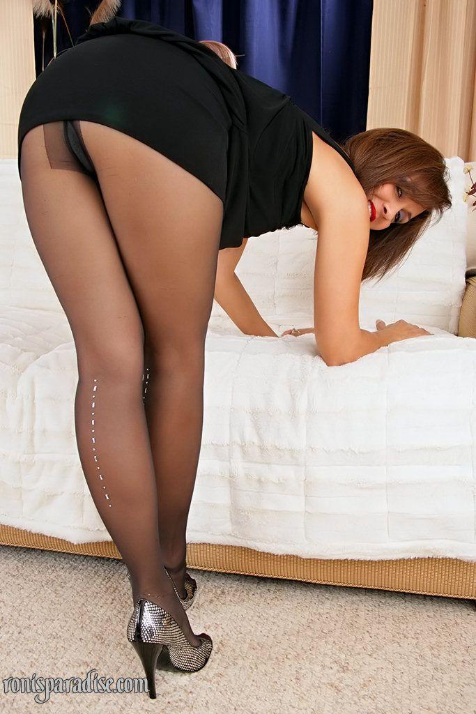 Sexy Pantyhose Mom
