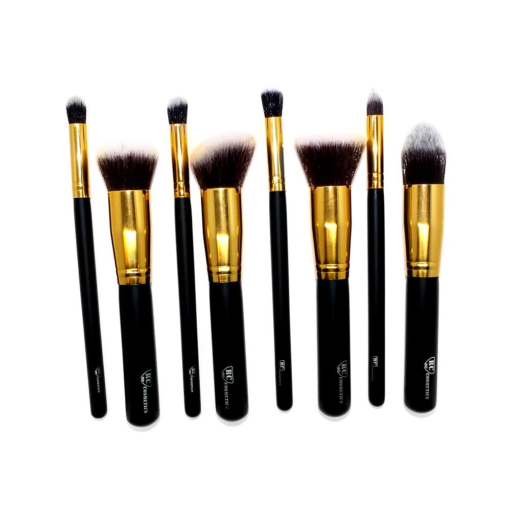 Face and Contour Kabuki Gold Brush Set of 8 ADD YOUR