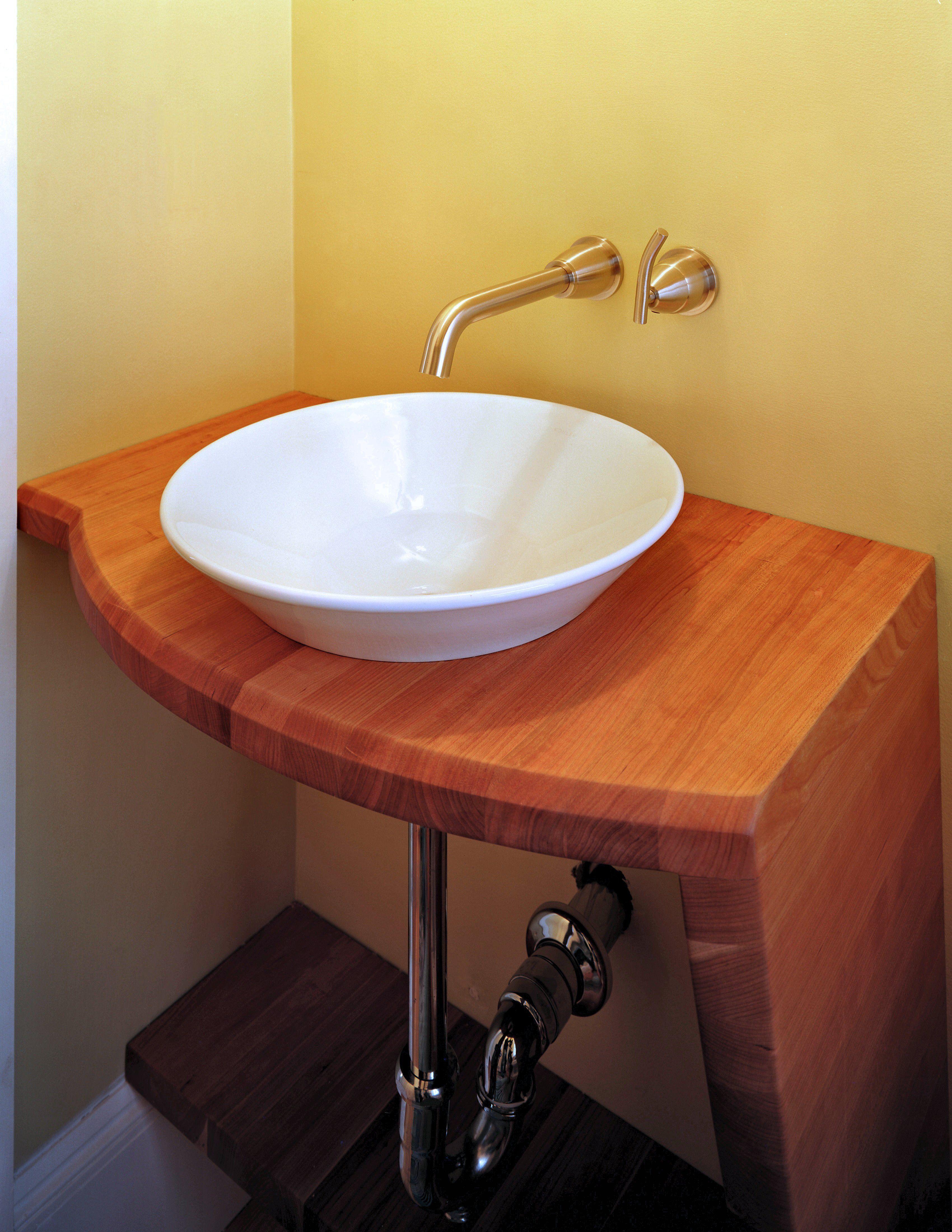 Devos Custom Woodworking Sink Photos Butcher Block Countertopsbathroom