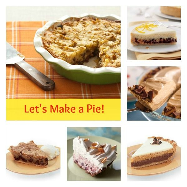 From cream pie classics to fantastic fruit pies, find delicious pies to make with your kids.