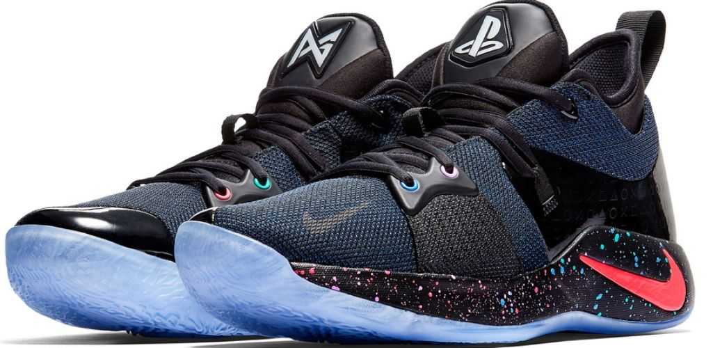 2cab8c2f8708 Nike and PlayStation have teamed up with basketball star and massive PlayStation  fan Paul George to create the beautiful PG-2 PlayStation Colorway sneaker.