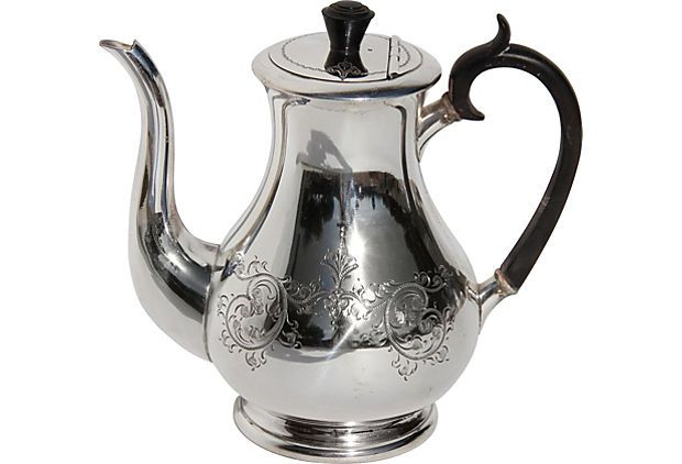 English Silverplate Coffee Pot, C. 1860 on OneKingsLane.com
