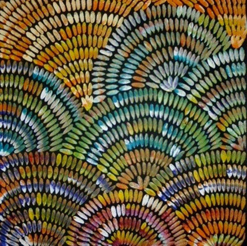 Janet Golder Kngwarreye ~ Women's Body Paint, 2010