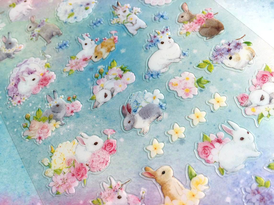 Qty: 1 SheetSheet size: 10 x 19cmMaterial: PVC stickerIt's time for your creativity fly:)