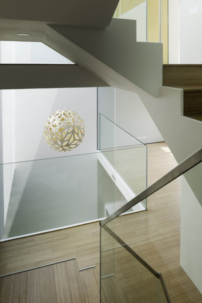Best House 98 By Mike Atkin Glass Stair Balustrade Glass 640 x 480