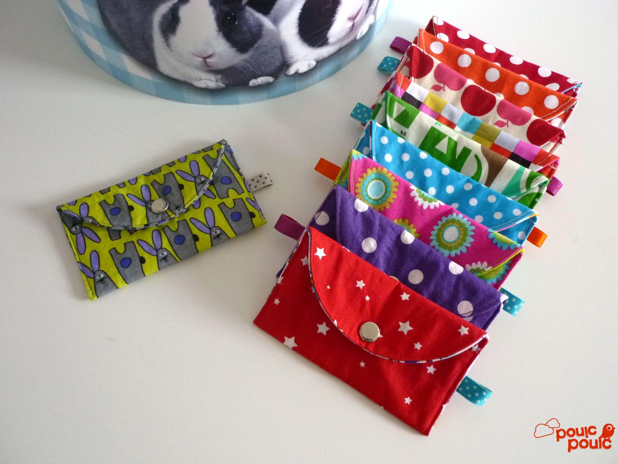 Porte monnaie tout simple avec pressions kam couture pinterest couture tutos couture et - Porte monnaie en tissu ...