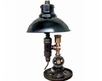Teal Bedside Lamp Table Lamps For Bedroom Industrial Lamps Vintages Desk Light Industrial Desk Lamp Vintage Old Fashioned Bul Lamp Table Lamp Rustic Lamps
