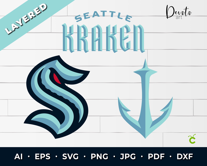 Pin On Seattle Kraken Svg Files For Cricut