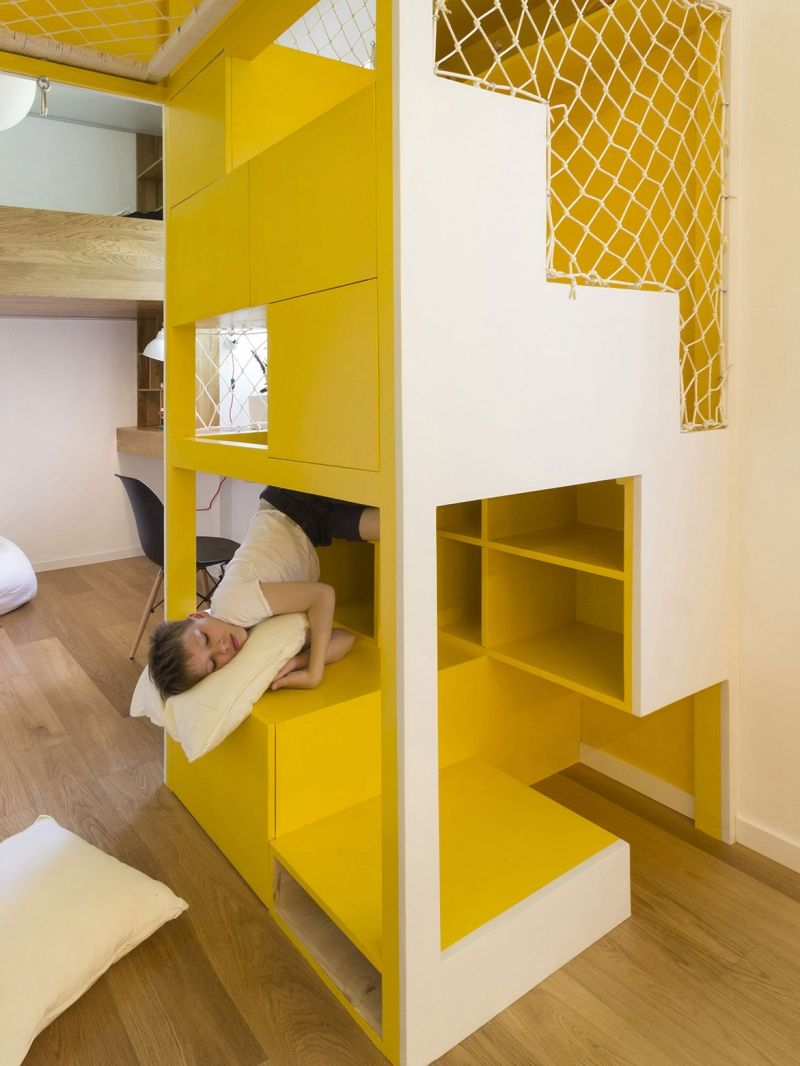 Indoor Spielplatz zu Hause - Räume mit individuellem Design | Neue ...