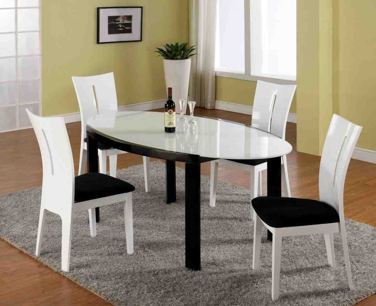 Black and white dining table and chairs dinning table leg