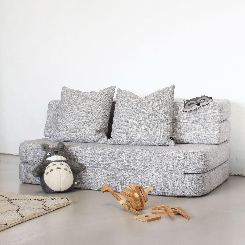 f34a7b56ff3 Kk 3 fold sofa - blue grey w. grey in 2019 | Sofa | Folding sofa ...