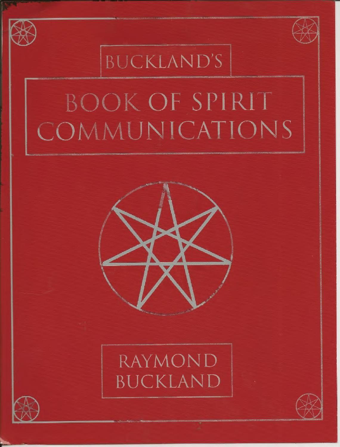 Book of spirit communications spirit communication
