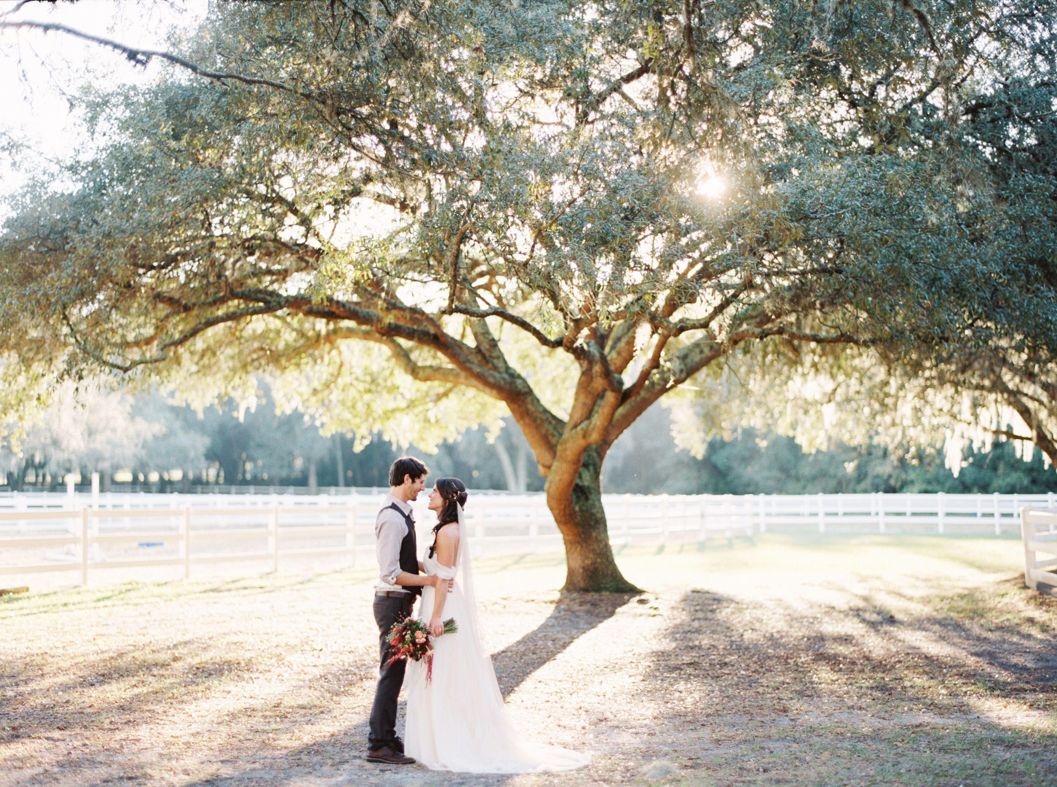 A Natural Fall Wedding At The Lange Farm In Dade City Florida