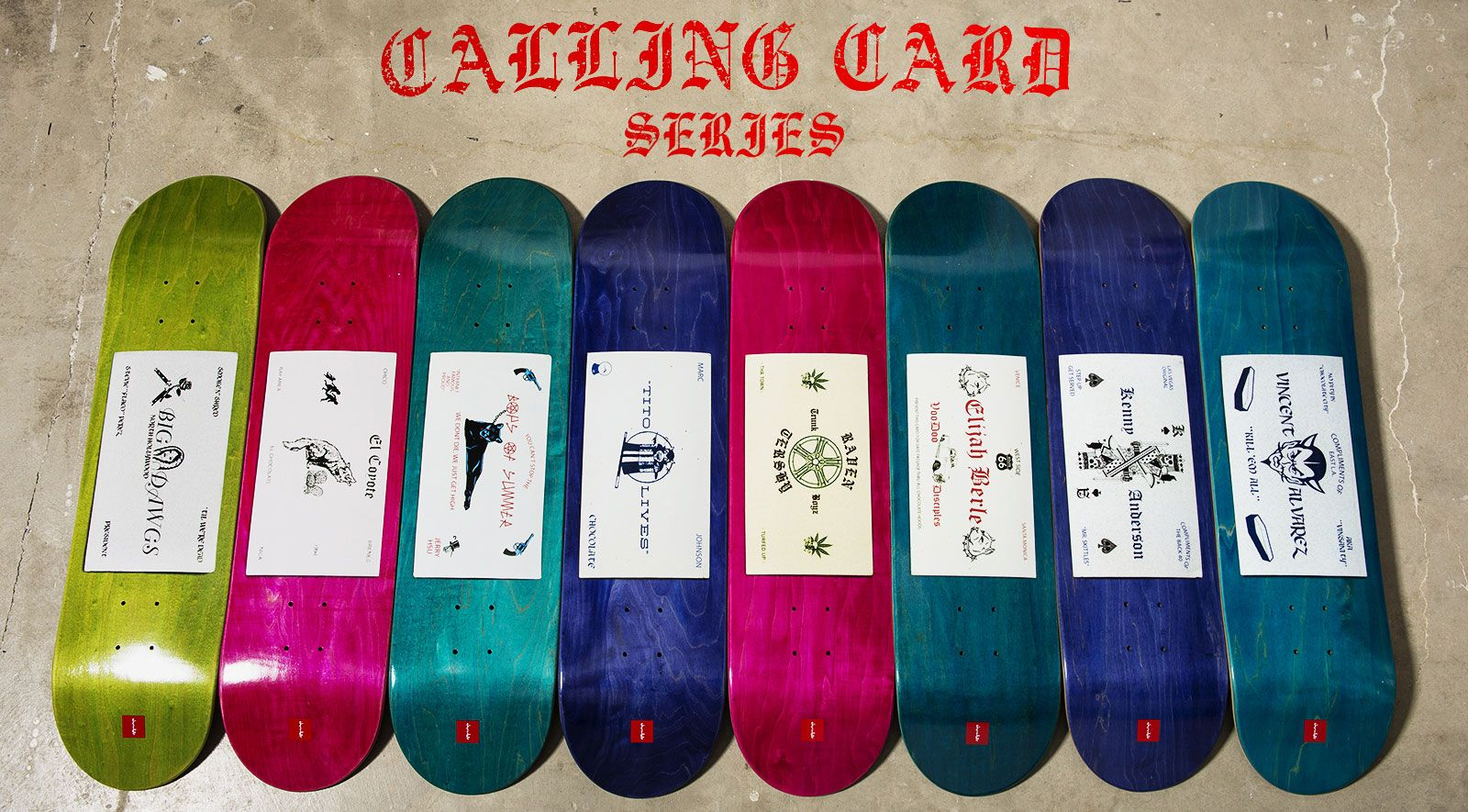 chocolate skateboards calling card series - Google Search | Skate ...