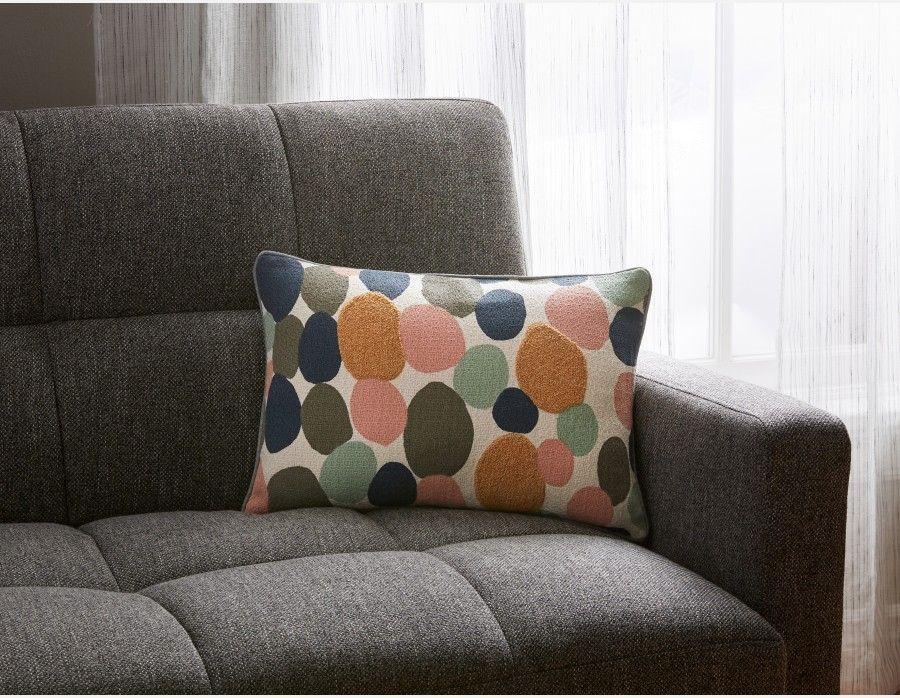 Gala Multi Coloured Cushion 45cm X 30cm In 2019 Apartment Multicoloured Cushions Cushions Colourful Cushions