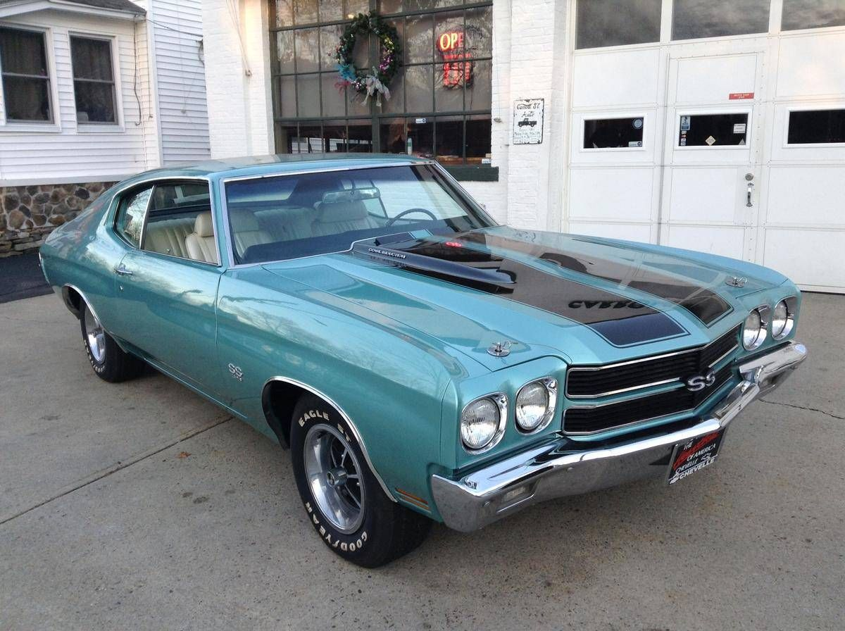 1970 Chevrolet Chevelle SS 396/375 L78, 1 Owner, Muscle