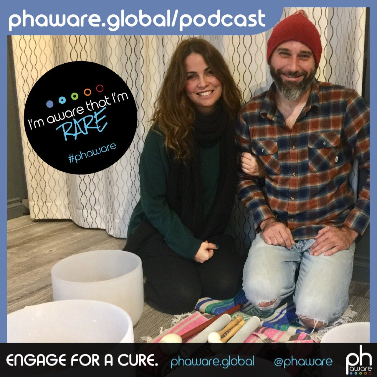 I'm Aware That I'm Rare: the phaware™ podcast: Sound Bath Guided Mediation Transcript
